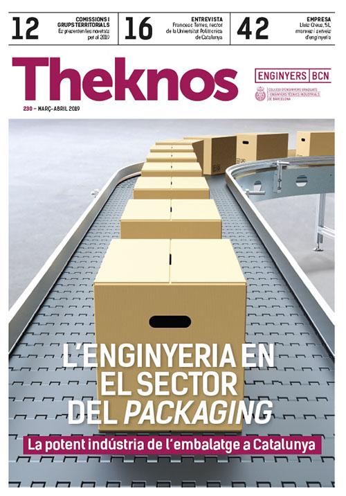 Artículo sobre Lluis Creus s.l. en la revista Theknos del Col·legi d'enginyers de Barcelona